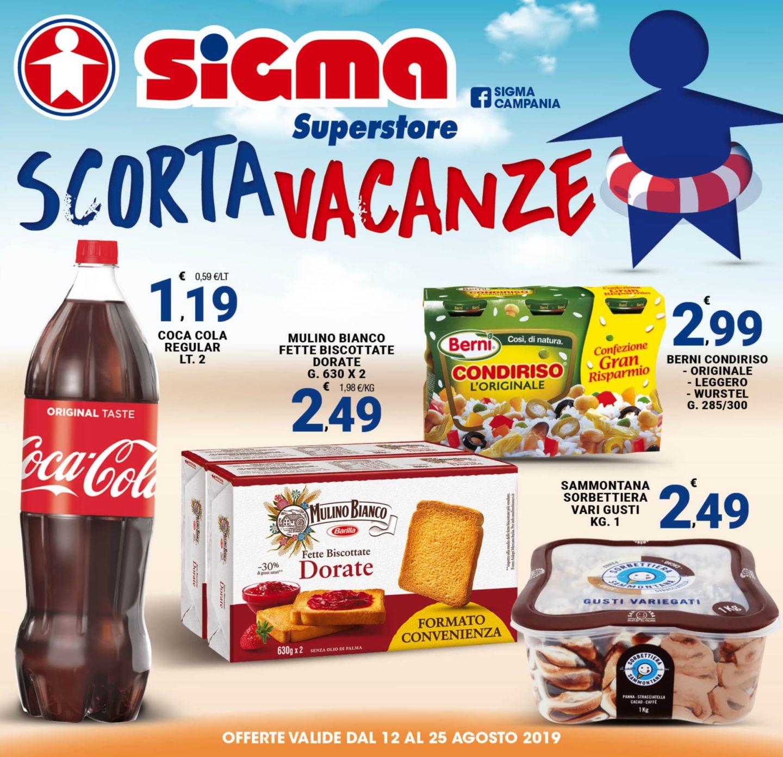 Volantino Sigma Superstore 12 Agosto - 25 Agosto 2019