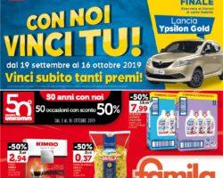 Volantino Famila 3 Ottobre - 16 Ottobre 2019