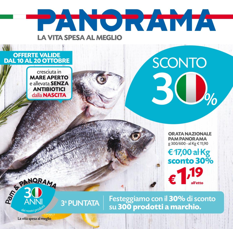Volantino Panorama 10 Ottobre - 20 Ottobre 2019