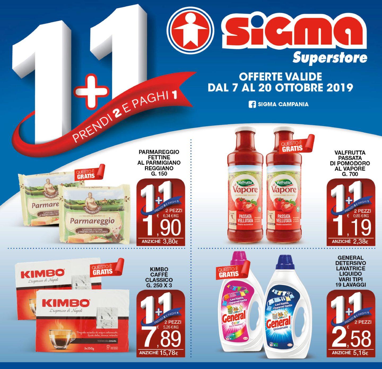 Volantino Sigma Superstore 7 Ottobre - 20 Ottobre 2019