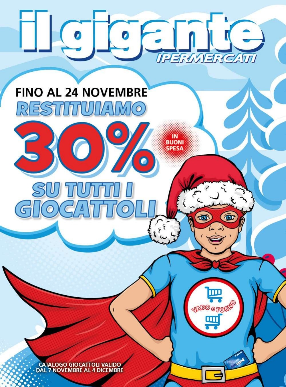 Volantino Il Gigante 7 Novembre - 4 Dicembre 2019