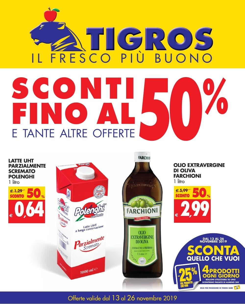 Volantino Tigros 13 Novembre - 26 Novembre 2019