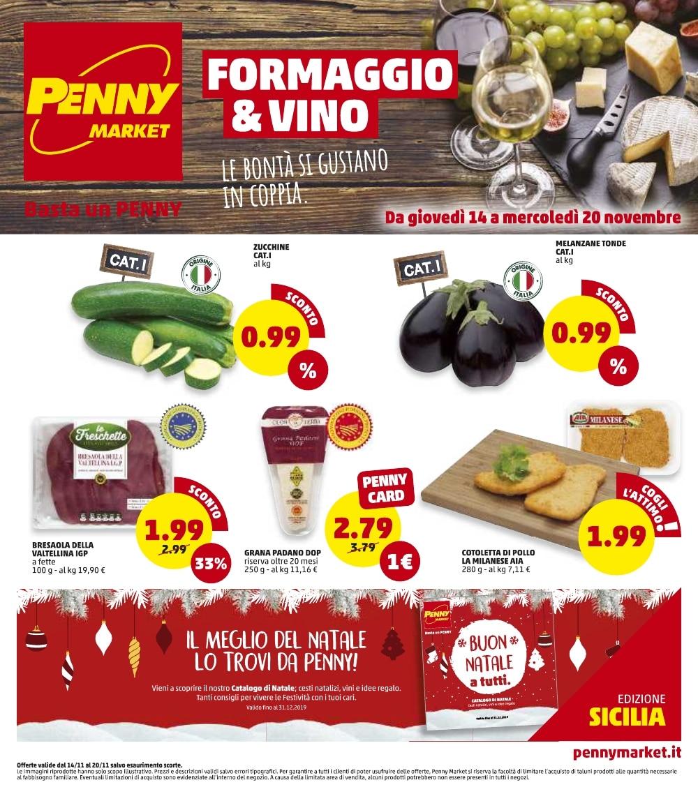 Volantino Penny Market 14 Novembre - 20 Novembre 2019