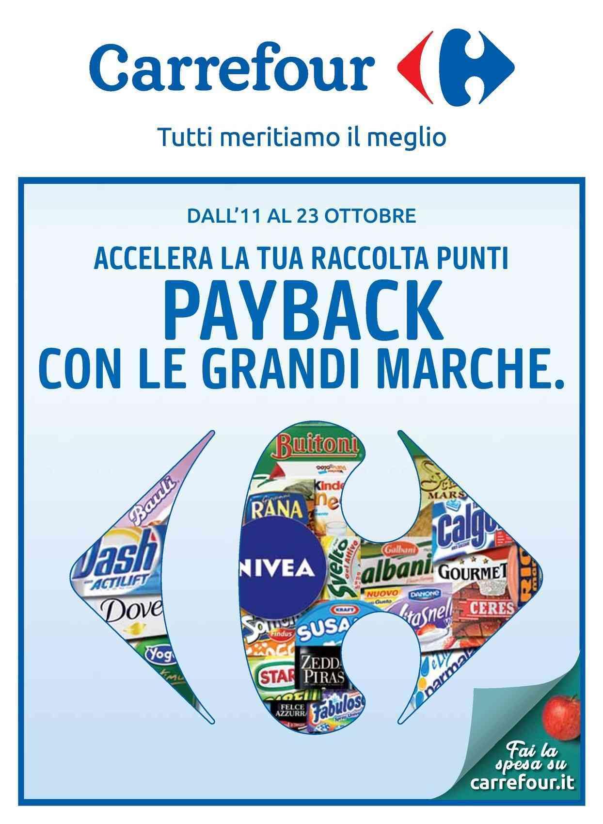 Volantino Carrefour 11 Novembre - 23 Novembre 2019